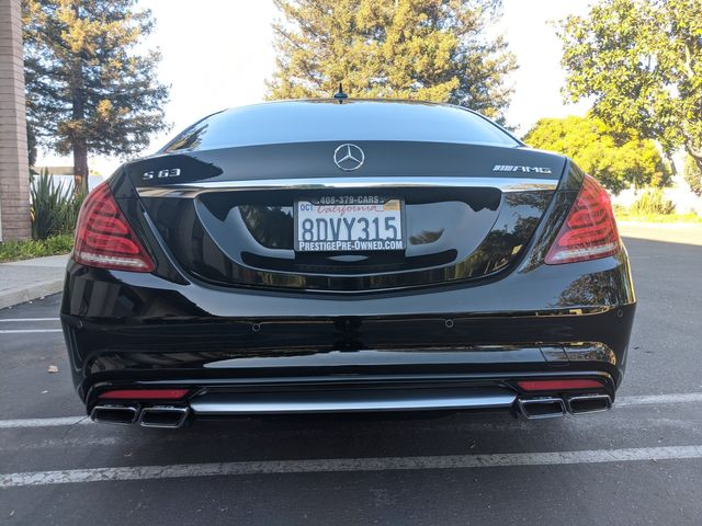 2015 Mercedes-Benz S 63 AMG ((**$145K ORIGINAL MSRP**)) in Campbell, CA 95008