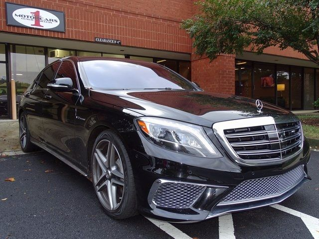 2015 Mercedes-Benz S 65 AMG S 65 AMG