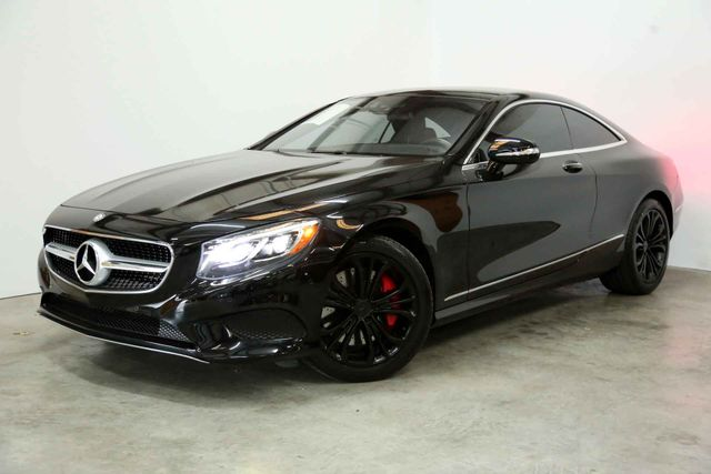 2015 Mercedes-Benz S550 Coupe Houston, Texas 0