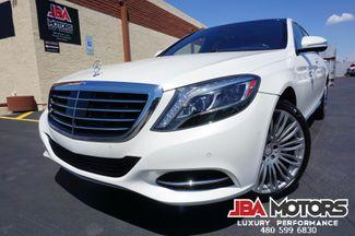 2015 Mercedes-Benz S550 S Class 550 Sedan LOW MILES ~ Diamond White WOW | MESA, AZ | JBA MOTORS in Mesa AZ