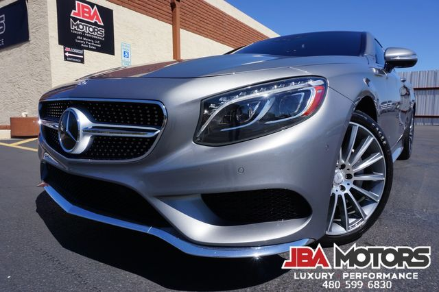 2015 Mercedes-Benz S550 S Class 550 Coupe 4Matic AWD - ONLY 43k LOW MILES