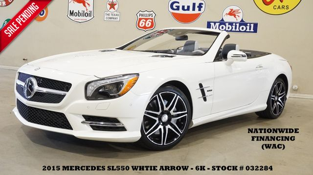 2015 Mercedes-Benz SL 550 White Arrow Edition NIGHT VISION,NAV,BACK-UP,6K
