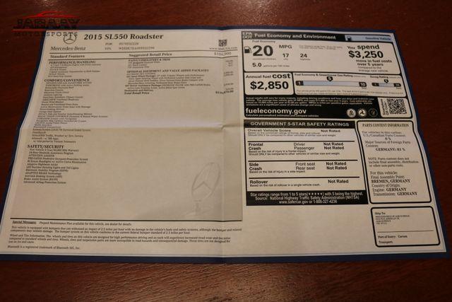 2015 Mercedes-Benz SL 550 Merrillville, Indiana 50