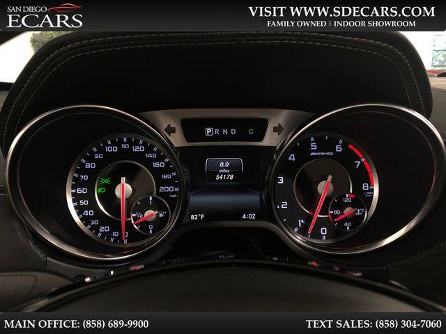 2015 Mercedes-Benz SL 63 AMG in San Diego, CA 92126