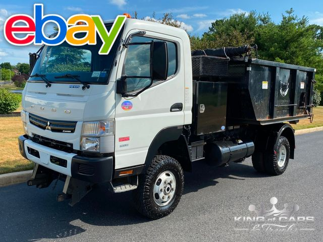 2015 Mitsubishi Fuso Fg4x4 DIESEL SWITCH & GO DUMP CAN 38K MILE RARE