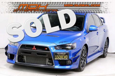 2015 Mitsubishi Lancer Evolution GSR - MANUAL - ONLY 14K MILES in Los Angeles