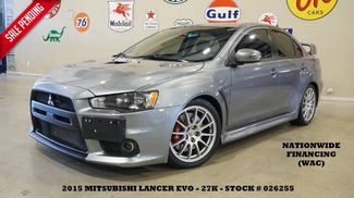 2015 Mitsubishi Lancer Evolution GSR 5 SPD,CLOTH,B/T,18IN WHLS,27K,WE FINANCE in Carrollton TX, 75006