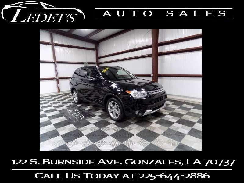 2015 Mitsubishi Outlander SE - Ledet's Auto Sales Gonzales_state_zip in Gonzales Louisiana