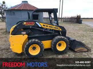 2015 New Holland L218 Skid Steer/ Loader | Abilene, Texas | Freedom Motors  in Abilene,Tx Texas
