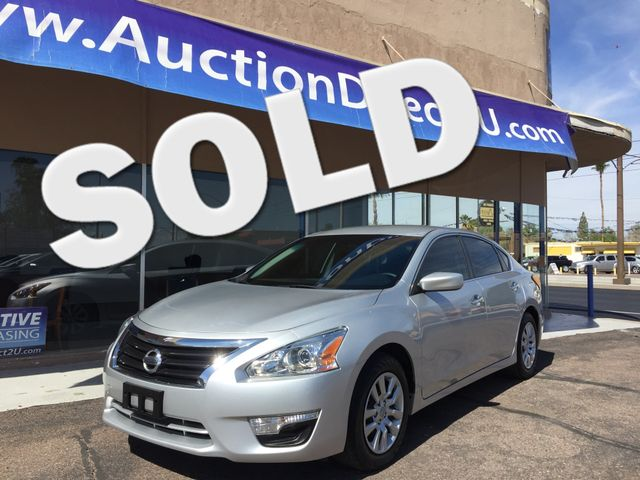 2015 Nissan Altima 2.5 S 5 YEAR/36,000 MILE FACTORY POWERTRAIN WARRANTY Mesa, Arizona