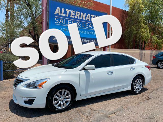 2015 Nissan Altima 2.5 S 3 MONTH/3,000 MILE NATIONAL POWERTRAIN WARRANTY Mesa, Arizona
