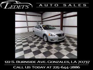 2015 Nissan Altima 2.5 S - Ledet's Auto Sales Gonzales_state_zip in Gonzales