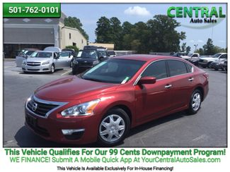 2015 Nissan ALTIMA    Hot Springs, AR   Central Auto Sales in Hot Springs AR