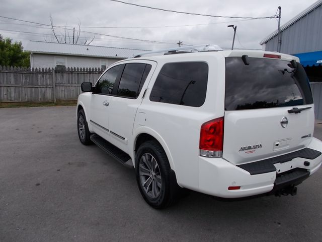 2015 Nissan Armada SL Shelbyville, TN 4
