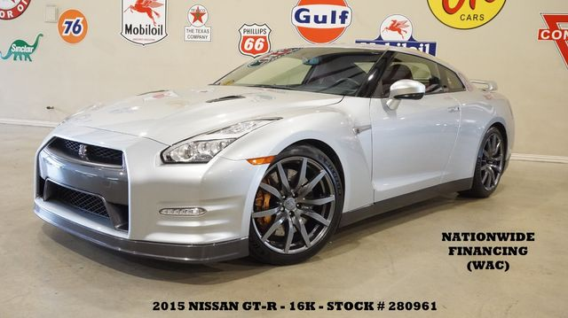 2015 Nissan GT-R Premium AWD NAV,BACK-UP CAM,HTD LTH,BOSE,16K