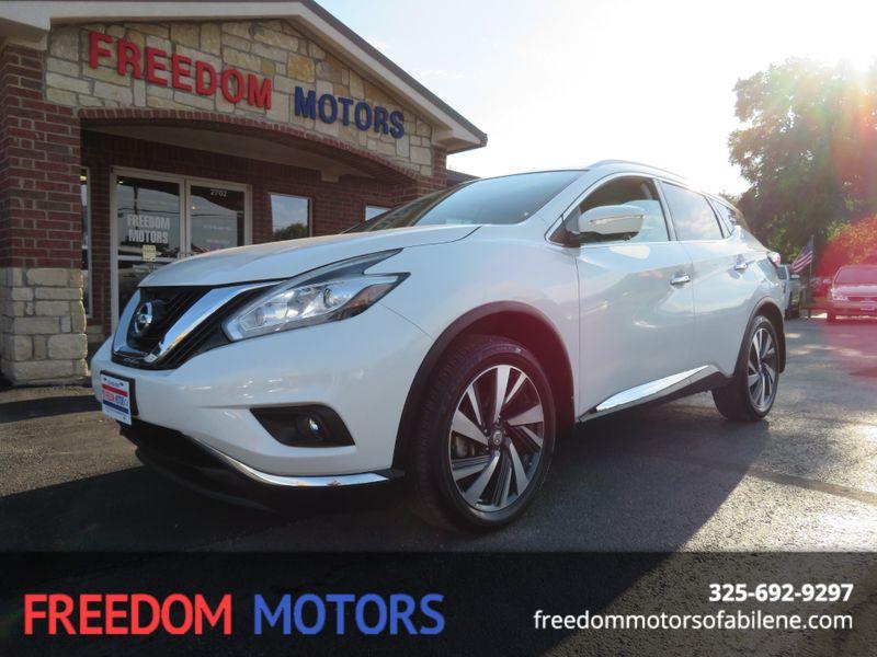 2015 Nissan Murano Platinum | Abilene, Texas | Freedom Motors  in Abilene Texas