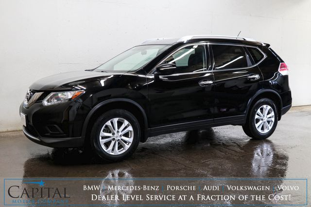 2015 Nissan Rogue AWD Crossover SUV w/Backup Cam, Remote Start, Bluetooth Audio and Gets 30+ MPG in Eau Claire, Wisconsin 54703