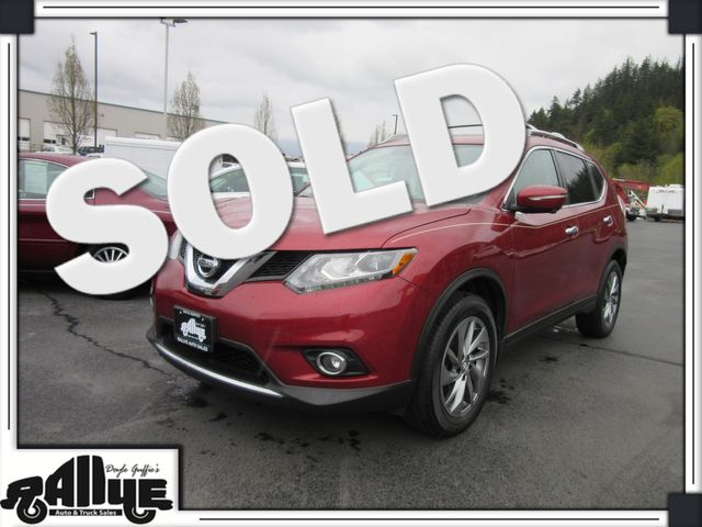 2015 Nissan Rogue SL AWD in Burlington, WA 98233