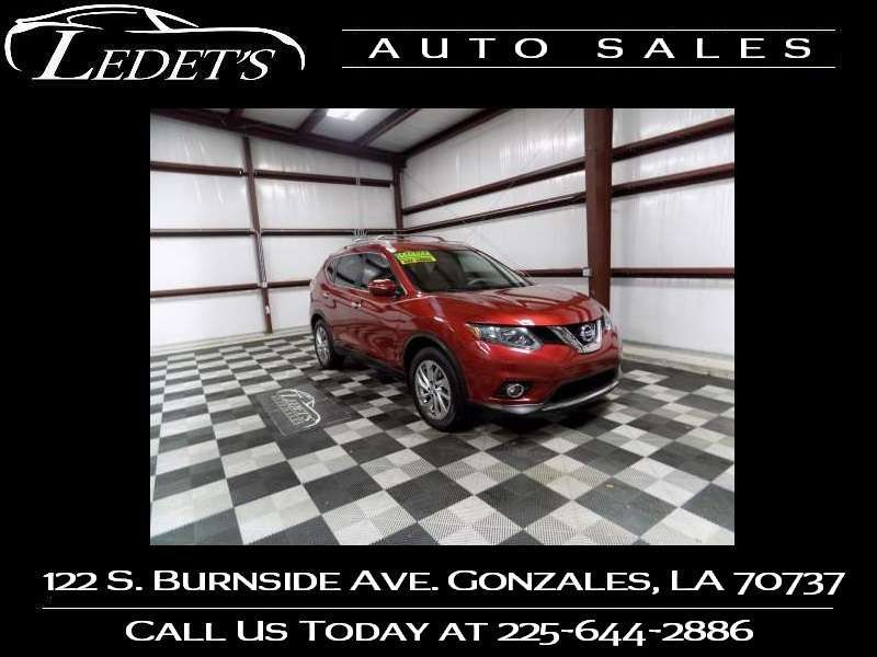 2015 Nissan Rogue SL - Ledet's Auto Sales Gonzales_state_zip in Gonzales Louisiana