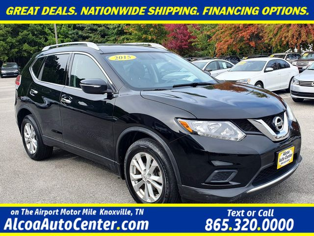 "2015 Nissan Rogue SV AWD Smart Key w/17"" Alloys in Louisville, TN 37777"