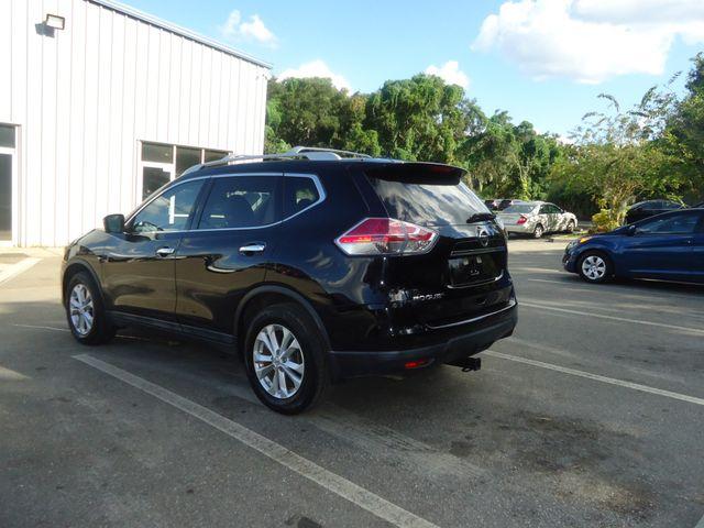2015 Nissan Rogue SV PREM PKG. NAVI. PWR LIFT GATE. 360 CAM. BLIND S SEFFNER, Florida 12
