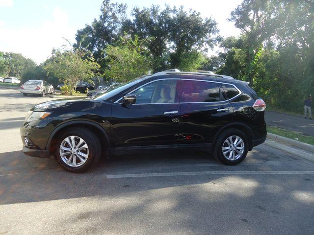 2015 Nissan Rogue SV PREM PKG. NAVI. PWR LIFT GATE. 360 CAM. BLIND S SEFFNER, Florida 5