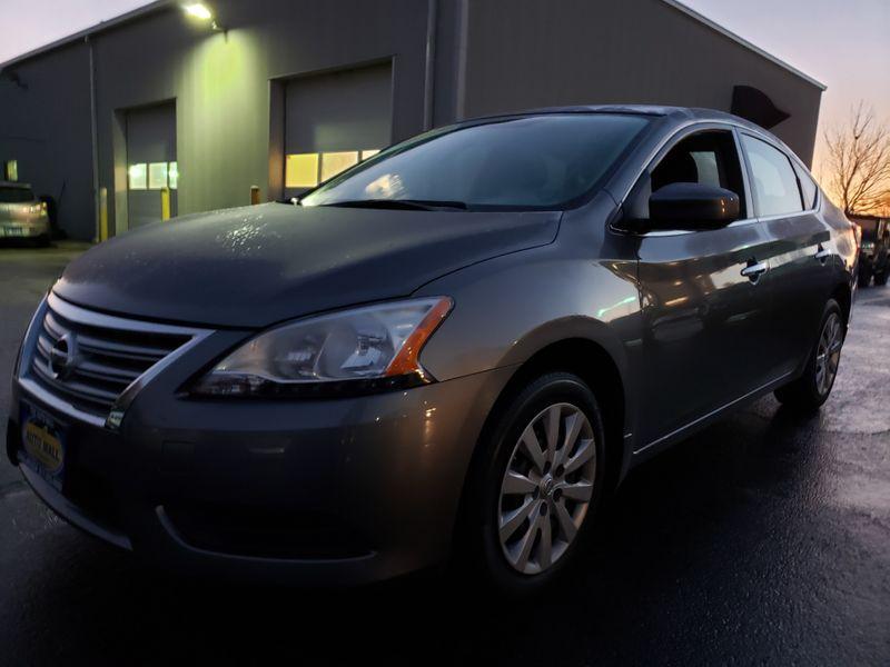 2015 Nissan Sentra S | Champaign, Illinois | The Auto Mall of Champaign in Champaign Illinois