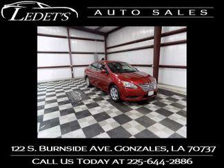 2015 Nissan Sentra S - Ledet's Auto Sales Gonzales_state_zip in Gonzales