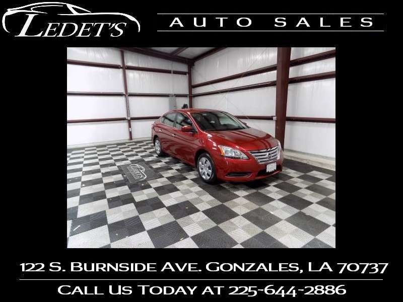 2015 Nissan Sentra S - Ledet's Auto Sales Gonzales_state_zip in Gonzales Louisiana