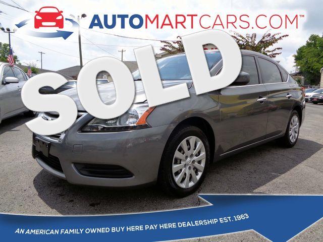 2015 Nissan Sentra SV   Nashville, Tennessee   Auto Mart Used Cars Inc. in Nashville Tennessee