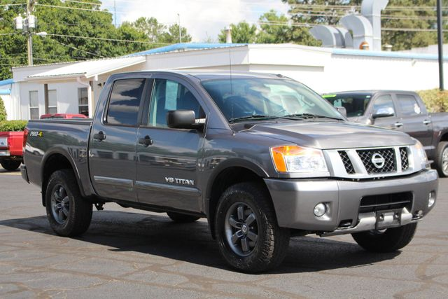 2015 Nissan Titan PRO-4X Crew Cab 4x4 - REARVIEW CAMERA - BEDLINER! Mooresville , NC 21