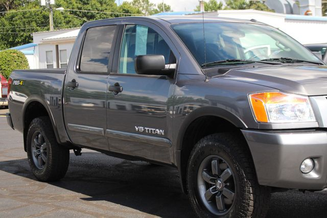2015 Nissan Titan PRO-4X Crew Cab 4x4 - REARVIEW CAMERA - BEDLINER! Mooresville , NC 25