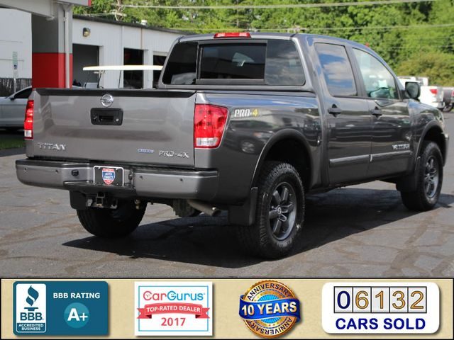 2015 Nissan Titan PRO-4X Crew Cab 4x4 - REARVIEW CAMERA - BEDLINER! Mooresville , NC 2