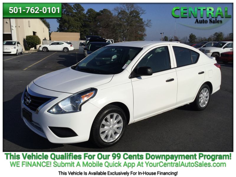 2015 Nissan Versa S Plus   Hot Springs, AR   Central Auto Sales in Hot Springs AR