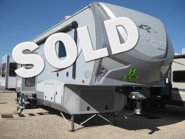 2015 Open Range Roamer 430RLS Odessa, Texas