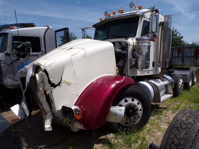 2015 Peterbilt 367 Tri Axle Cummins 500HP 18 Speed Heavy Spec Front Damaged 431k Miles