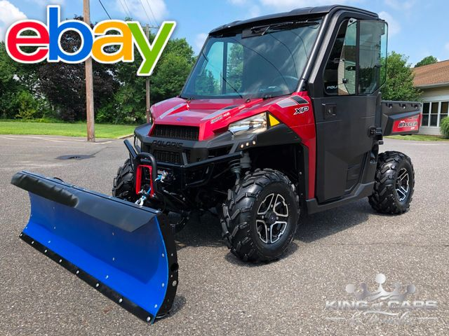 2015 Polaris Ranger Xp 900 NORTHSTAR EDITION W/ PLOW ONLY 273 MILE LIKE NEW in Woodbury, New Jersey 08096