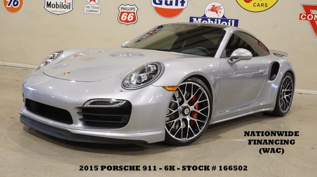 2015 Porsche 911 Turbo Coupe MSRP 176K,ROOF,BURMESTER,EXHAUST,6K