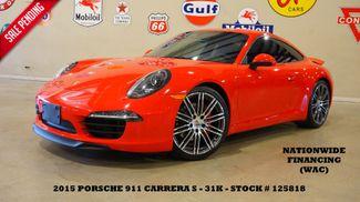 2015 Porsche 911 Carrera S Coupe MSRP 118K,SUNROOF,NAV,HTD LTH,31K in Carrollton, TX 75006