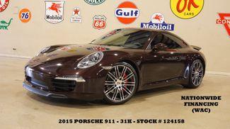 2015 Porsche 911 Carrera S Coupe 7 SPD,SUNROOF,NAV,HTD/COOL LTH,32K in Carrollton, TX 75006