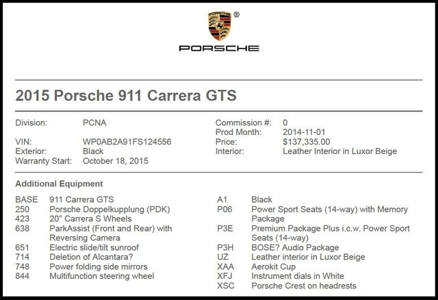 2015 Porsche 911 Carrera GTS-[ 2 ]