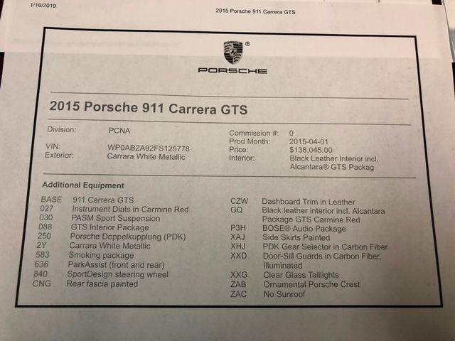 2015 Porsche 911 Carrera GTS Longwood, FL 42