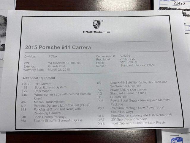 2015 Porsche 911 Carrera Longwood, FL 68