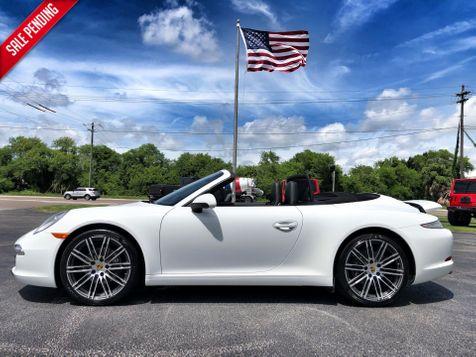 2015 Porsche 911 CARRERA CABRIOLET PDK PREMIUM PKG CARFAX in , Florida
