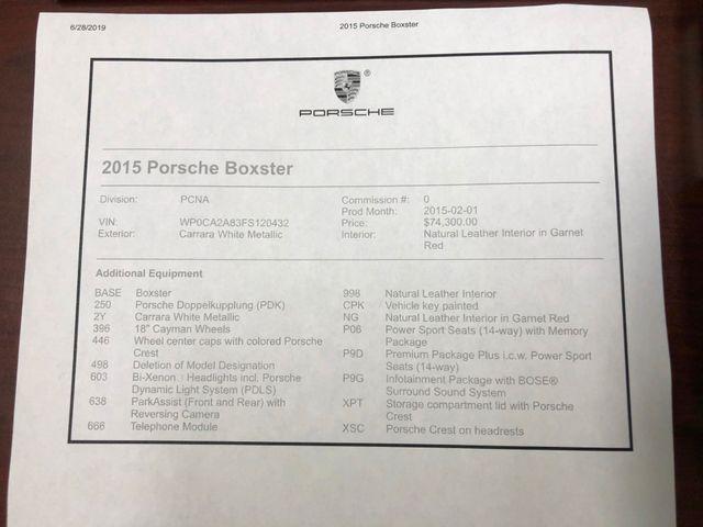 2015 Porsche Boxster Longwood, FL 47
