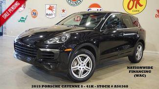 2015 Porsche Cayenne S AWD SUNROOF,NAV,BACK-UP,HTD LTH,BOSE,19IN WHL... in Carrollton TX, 75006