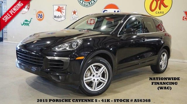 2015 Porsche Cayenne S AWD SUNROOF,NAV,BACK-UP,HTD LTH,BOSE,19IN WHL...