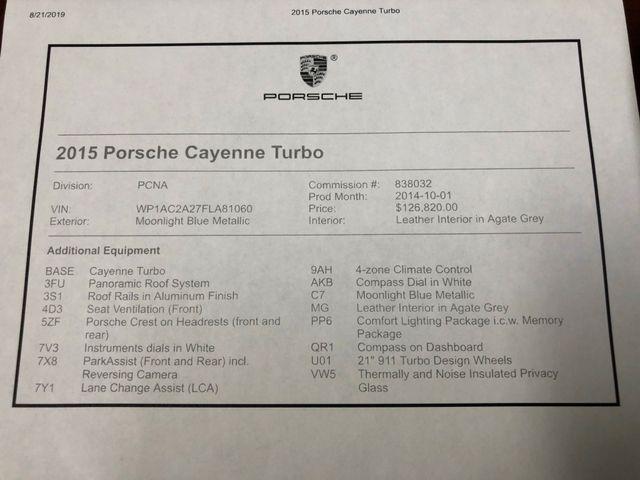 2015 Porsche Cayenne Turbo Longwood, FL 47