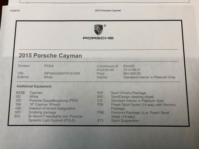 2015 Porsche Cayman Longwood, FL 41