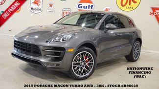 2015 Porsche Macan Turbo AWD PANO ROOF,NAV,BACK-UP,HTD/COOL LTH,30K in Carrollton TX, 75006